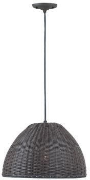 Rattan Pendant Outdoor Chandelier