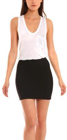 Herve Leroux Mai Skirt in Black