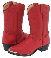 Durango Kids - BT855 (Toddler/Little Kid) (Red) - Footwear