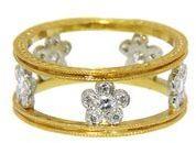 Cathy Waterman Suzanne's Ring - 22 Karat Gold | Platinum