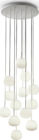 Lumi - Mochi Hanging Round Lamp - 13 Lights By Fabbian