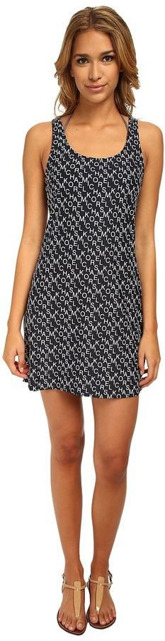 MICHAEL Michael Kors Stacked Logo Tank Cover-Up