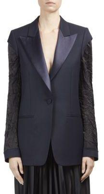 Maison Margiela Wool Button-Front Blazer