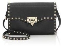 Valentino Rockstud Medium Leather Crossbody Bag