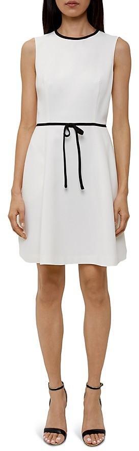 Ted Baker Saydey Bow-Waist Dress
