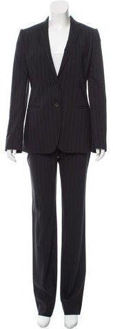 Dolce & Gabbana Metallic Pinstripe Pantsuit