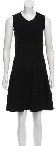 Salvatore Ferragamo A-Line Mini Dress
