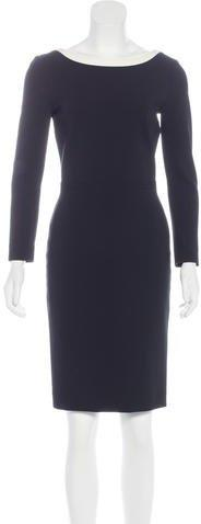 Prada Knee-Length Sheath Dress