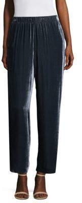 Peserico Velvet Pull-On Pants