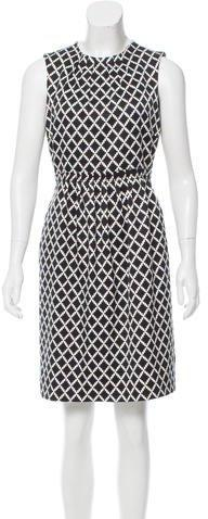 Tory Burch Printed Pleated Dress