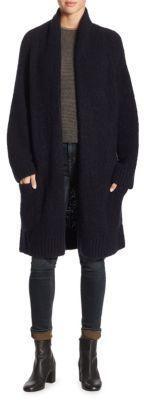 Vince Marl Ribbed Coat