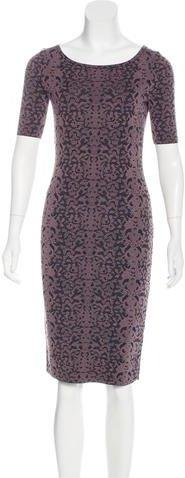 Gucci Intarsia Wool-Blend dress