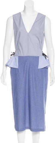 Tome 2017 Pinstripe Dress w/ Tags