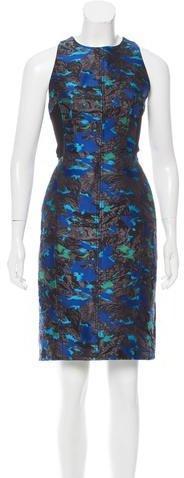 Proenza Schouler Silk-Blend Midi Dress