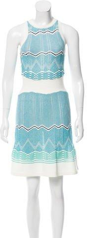Missoni Sleeveless Knit Mini Dress