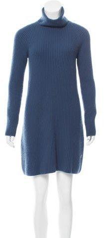 Loro Piana Rib Knit Baby Cashmere Dress