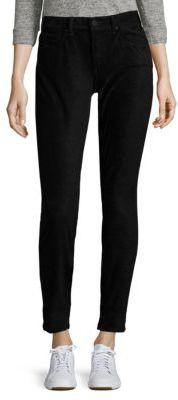 Newtown Faux Suede Skinny Jeans