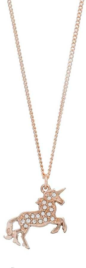 LC Lauren Conrad Runway Collection Unicorn Pendant Necklace