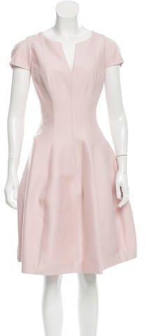 Halston Heritage Knee-Length A-Line Dress