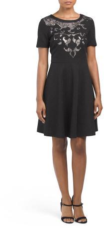 Wynne Short Sleeve Cocktail Dress