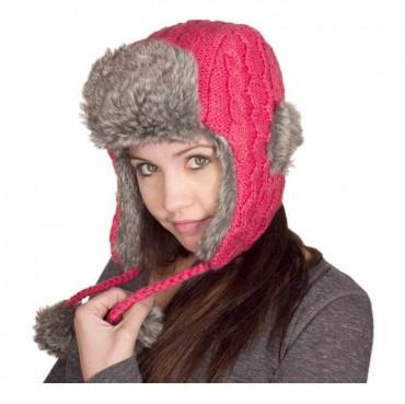 Knitting Pattern Russian Hat : Nirvanna Designs Cable Knit Russian Hat - Trendylog
