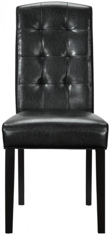 Black Vinyl Perdure Dining Chair Trendylog : black vinyl perdure from usa.trendylog.com size 370 x 792 jpeg 23kB