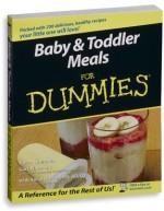 """Baby & Toddler Meals for Dummies"" Book"
