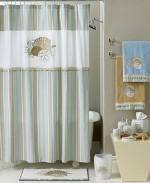 Avanti Bath Accessories, By The Sea Shower Curtain