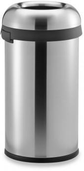 simplehuman® 60-Liter Stainless Steel Bullet Open Can