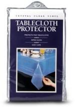 Crystal Clear Tablecloth Protectors