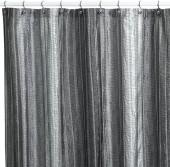 Manor Hill® Sierra Onyx Fabric Shower Curtain