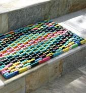 Large Flip-Flop Doormat Rug