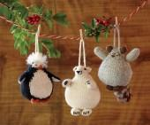 Creature Comfort Wool Ornaments