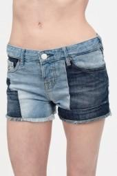 Maison Scotch Patchwork Denim Cutoffs