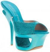 Gianmarco Lorenzi Collector Rhinestone platform sandal