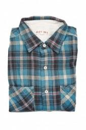 Alex Mill Plaid Button Down Shirt Blue