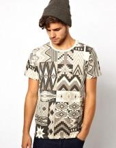 Paul Smith Jeans Geometric Print T-Shirt
