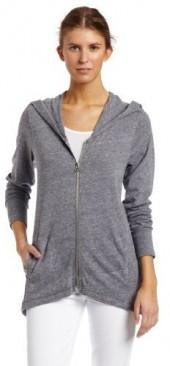 C&C California Women's Triblend Long Sleeve Zip Hoody