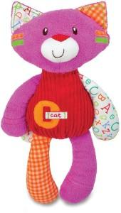 "Kids preferred smarty kids ""c is for cat"" plush toy"