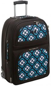 Chloe dao luggage, lotus 21-in. expandable wheeled carry-on
