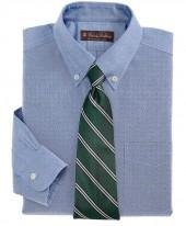 Non-Iron Pinpoint Button-Down Dress Shirt