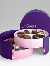 Vosges Haut-Chocolat Exotic Caramel 2 Tier Hatbox
