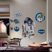 Fathead ® star wars ® r2-d2 TM wall decal