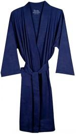 Pure Fiber Organic Knit Bathrobe