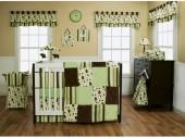 Trend Lab® Giggles 3-Piece Crib Bedding Set