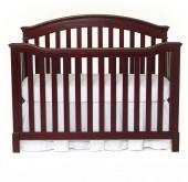 Summer Infant® Lancaster Grow With Me 4-in-1 Convertible Crib in Black Cherry
