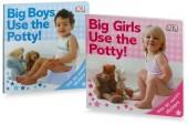 Big Boys and Big Girls Use the Potty! Board Books