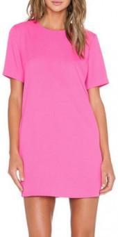 Blaque Label Fuchsia Shift Dress