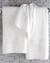 Matouk Auberge Monogrammed Wash Cloth