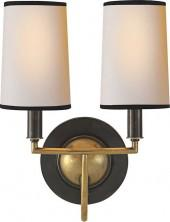 Thomas O'Brien ELKINS DOUBLE SCONCE
